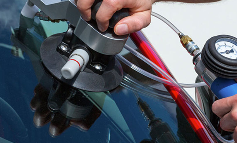 mobile service for chipped vehicle glass