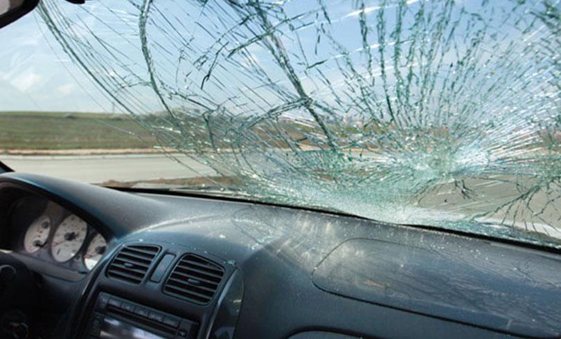 broken windshield need replace