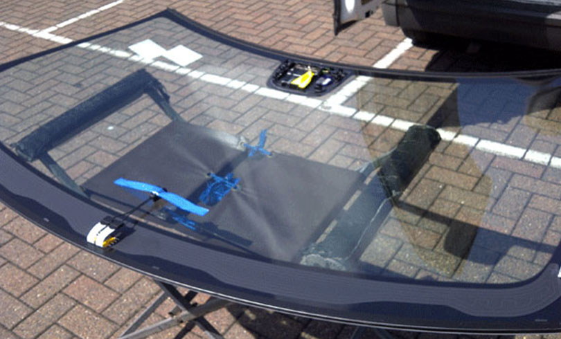 getting ready to install car windshield